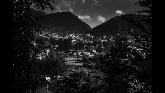 A view of Valbrona, in the province of Como.