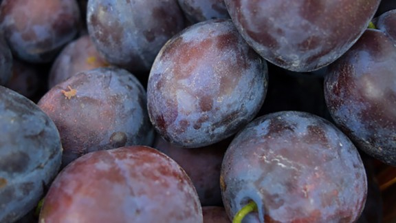 Plums are not only a good source of antioxidants -- they are known for their laxative properties, too.