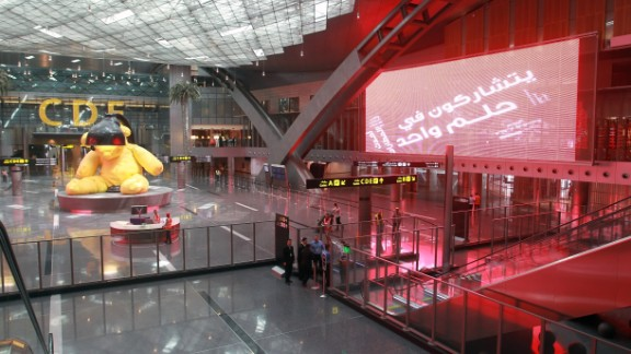 <strong>No. 2 Major Airport: Hamad International Airport: </strong>Doha's Hamad International Airport is Qatar's main airport. It has a punctuality average of 85.41%.