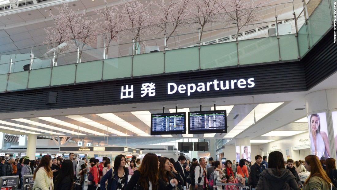 Tokyo's Haneda Airport, at No. 4, is one of three airports in Japan on this year's top 10 list.