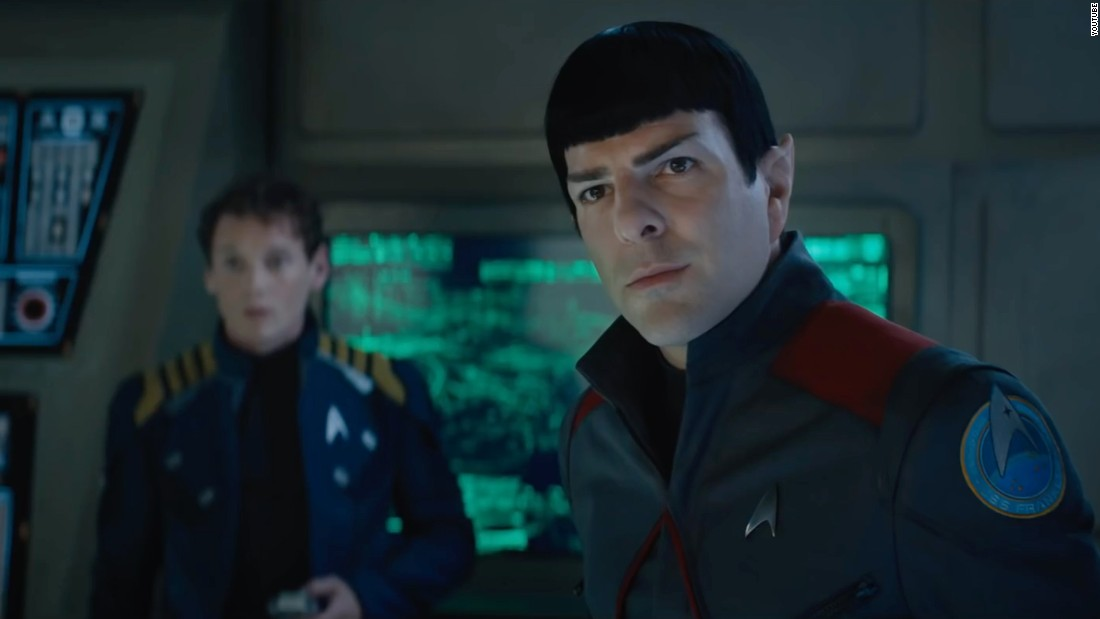 "The latest film in the ""Star Trek"" series, ""Star Trek Beyond,"" may have Zachary Quinto's Spock and Karl Urban's McCoy <a href=""http://www.cinemablend.com/new/Star-Trek-Beyond-Won-t-Traditional-Kirk-Spock-Adventure-79337.html"" target=""_blank"">interacting with each other</a> more than with Chris Pine's Capt. Kirk. That sounds like fun, as does the fact that Simon ""Scotty"" Pegg contributed to the script. The film opens July 22."