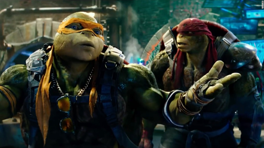 "The 2014 return of the Teenage Mutant Ninja Turtles was a surprise blockbuster, so there was no question they'd return. The new film, ""Teenage Mutant Ninja Turtles: Out of the Shadows,"" opens June 3."