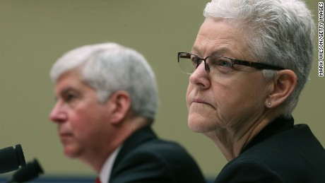 EPA administrator doesn't admit culpability in Flint