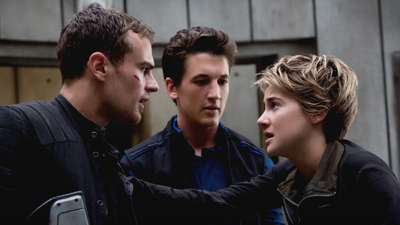 """""""The Divergent Series: Allegiant"""": Based on the final book in the """"Divergent"""" trilogy for young adults, the film stars Theo James, Miles Teller and Shailene Woodley. (HBO Now)"""