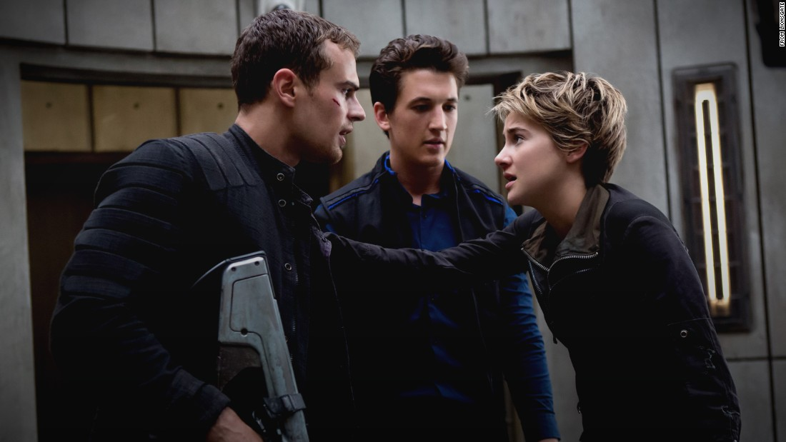 "<strong>""The Divergent Series: Allegiant"":</strong> Based on the final book in the ""Divergent"" trilogy for young adults, the film stars Theo James, Miles Teller and Shailene Woodley. <strong>(HBO Now) </strong>"