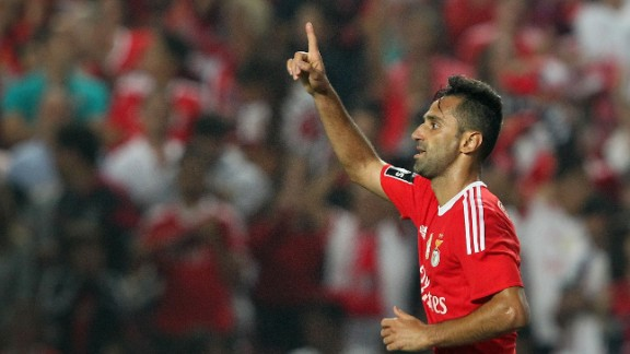 They'll have to pay attention to Benfica striker Jonas, though, who has scored more league goals than Ronaldo, Suarez, Messi, Aguero and Zlatan Ibrahimovic this season.