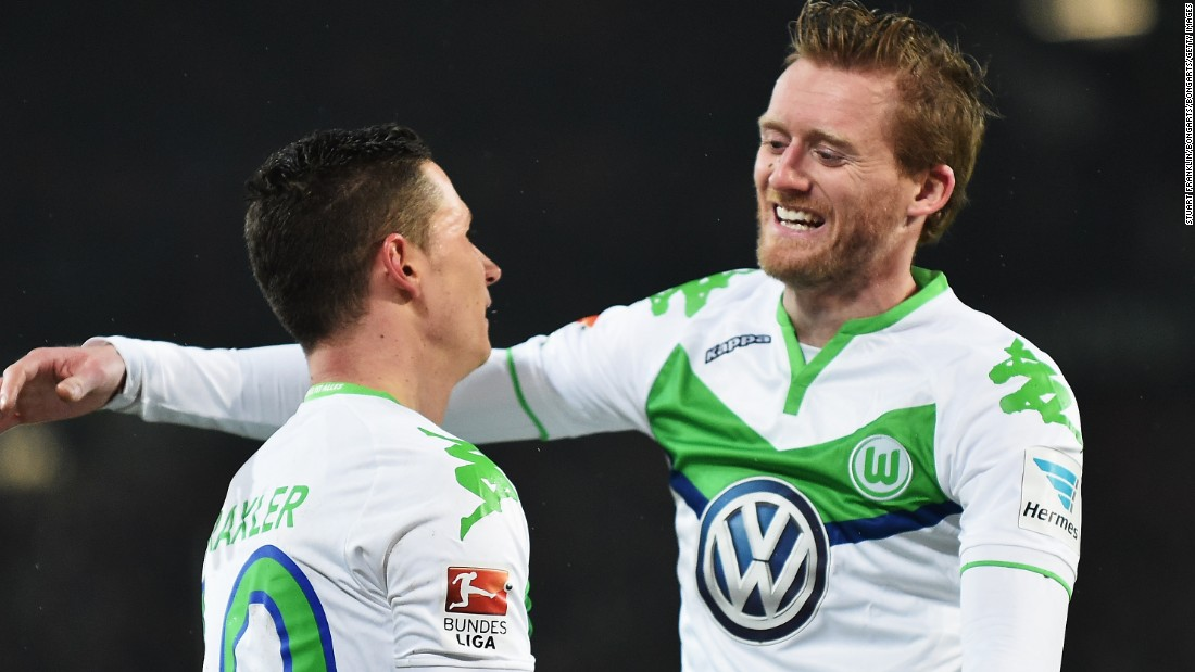 For Wolfsburg to have any chance, star midfielder Julian Draxler, left, will have to shine.