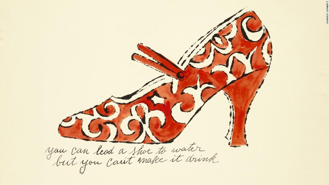 Afbeeldingsresultaat voor andy warhol schoenen