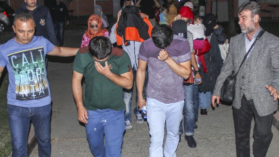 Foreigners captured in Turkey after allegedly planning to join ISIS were later deported.