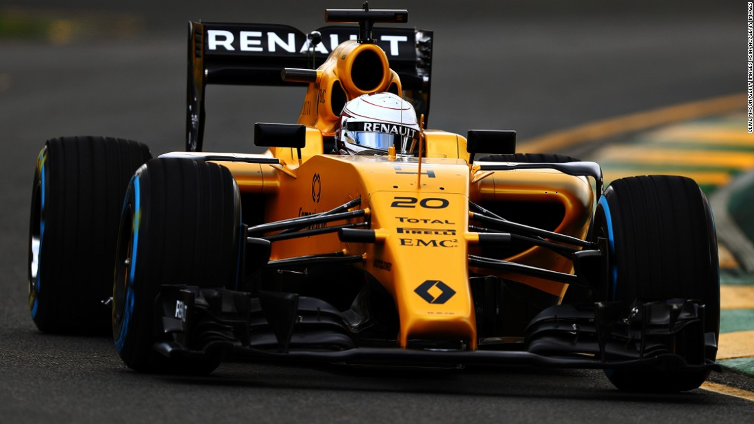 Renault reborn: The newly resurrected team has brought in the highly-rated Danish driver Kevin Magnussen.