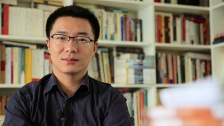 Jia Jia is a columnist active on political issues; he has about 85,000 followers on Twitter.