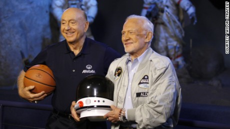 Dick Vitale goes against Buzz Aldrin, who has out-of-this-world knowledge.