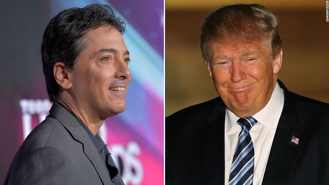 Scott Baio trends after endorsing Trump