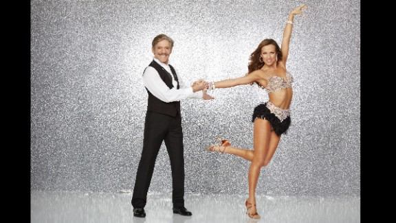 """Fox News senior correspondent Geraldo Rivera, who was paired with pro dancer Edyta Sliwinska, was the first competitor eliminated this season. Though Rivera has worked for """"20/20"""" and other mainstream media, he's best known for his controversial talk show, """"Geraldo,"""" where arguments about controversial topics sometimes turned physical. The couple were the first to be eliminated on the show."""