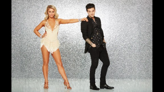 """UFC fighter Paige """"12 Gauge"""" VanZant, was paired with pro dancer Mark Ballas, is a top-ranked contender in the women's straw-weight division. She also had a not-so-secret weapon: Her parents owned a dance studio, and she grew up dancing there. The pair made it to the finals."""