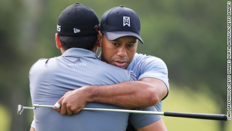 How texts from Tiger Woods inspired Jason Day