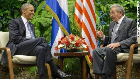 President Obama visited Cuba in March