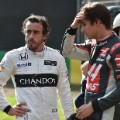 Fernando Alonso crash Australian Grand Prix