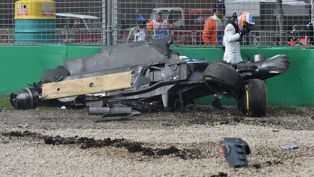 "Look at the accident to Alonso in Melbourne. Look at the car!"" Andretti told CNN. ""He came away to race another day. That's the bright side of our sport. We're very responsible about it and learn from every incident -- from that standpoint the sport is in very good hands."""