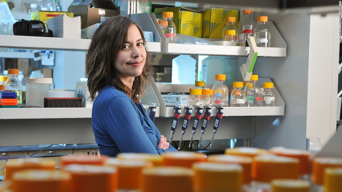 Smolke's technique is anticipated to make opioid drugs within three to five days. She's confident  her method will lead to drug advances for other conditions, such as cancer.