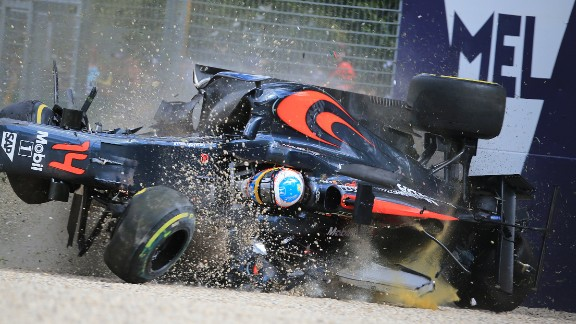 "It was the second serious incident Alonso has been involved in in as many years, although his crash at the 2016 was arguably worse. After colliding with Esteban Gutierrez, Alonso's car hit the wall at 200mph, flipping through the air before coming to rest upside down. ""I'm lucky to be here and thankful to be here,"" Alonso said after the crash."