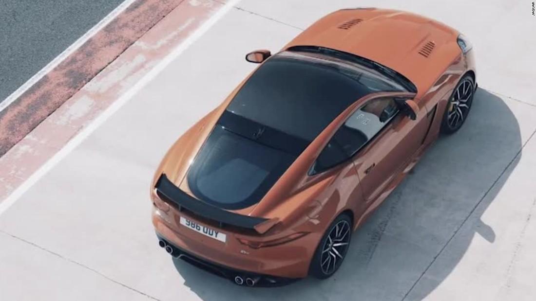 Jaguars Fastest Production Car Tops 200 Mph CNN Video
