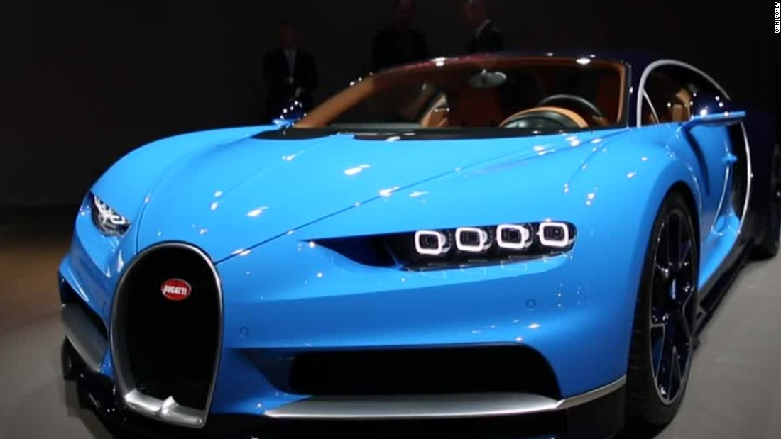 2 5 Million Bugatti Will Go 261 Mph Cnn Video