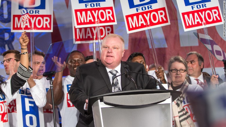 Remembering Rob Ford