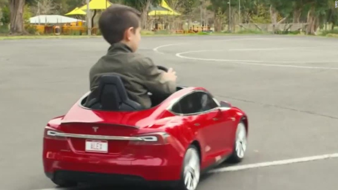 This Tesla Is For Kids CNN Video - Show me pictures of a tesla car