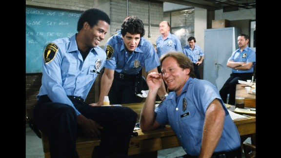 """<strong>'Hill Street Blues':</strong> When this gritty, realistic police drama debuted on NBC in 1981, it was unlike anything else on American television. The creators of """"The Sopranos,"""" """"Breaking Bad,"""" and """"Mad Men"""" all owe thank-you notes to """"Hill Street"""" creator Steven Bochco, <a href=""""http://www.cnn.com/2014/04/29/showbiz/tv/hill-street-blues-oral-history/"""" target=""""_blank"""">said </a>Syracuse University pop culture professor Robert Thompson. The show, which ran until 1987, was a mix of drama and comedy with diverse, colorful three-dimensional characters."""