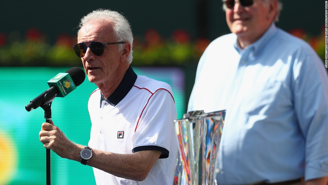 Moore, a former player, ATP President and former member of the ATP's Board of Directors, resigned Monday from his Indian Wells post.