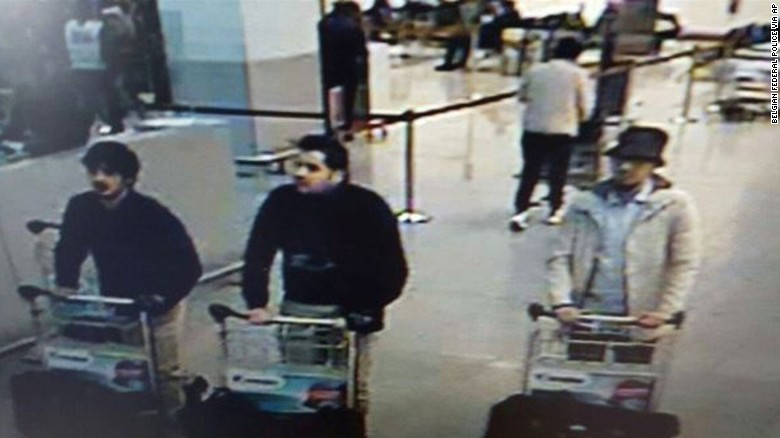 Search continues for unidentified Brussels suspect