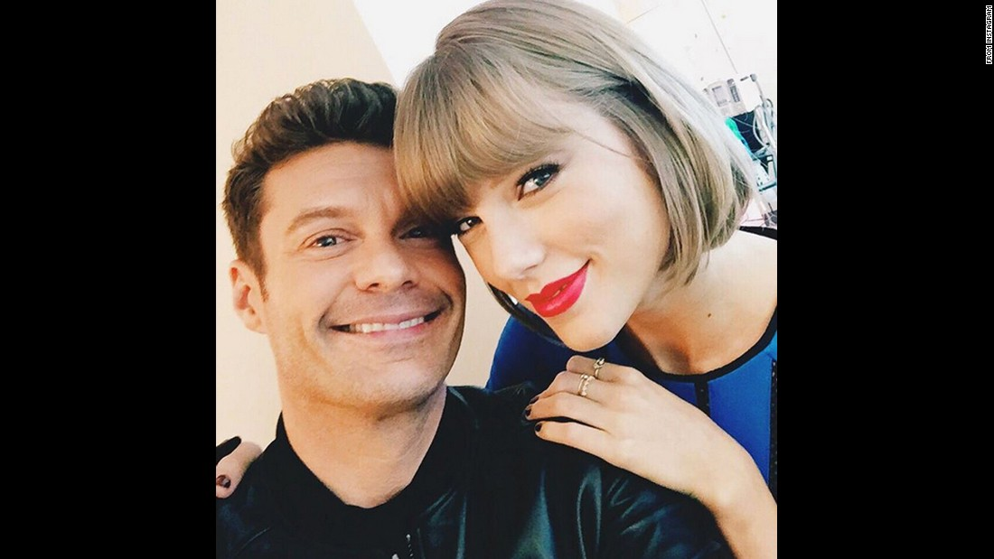 "Television host Ryan Seacrest takes a selfie with pop star Taylor Swift after opening a recording studio at a children's hospital in Nashville, Tennessee. ""Surprise of the century?!"" <a href=""https://www.instagram.com/p/BDGty1HFWSL/"" target=""_blank"">Seacrest said on Instagram</a>, referring to Swift's presence on Friday, March 18. ""Thx for being part of our 10th opening today and everything you do for the kids #SeacrestStudios."""