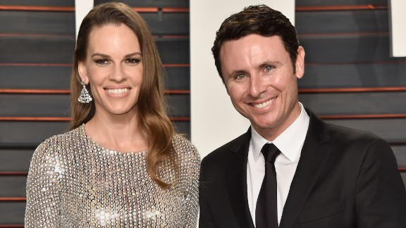 "Oscar-winning actress Hilary Swank and tennis pro Ruben Torres announced their engagement Tuesday in California. ""Sooooooo this happened!!!"" the ""Million Dollar Baby"" star said in tweeting a photo of her engagement ring. Here"