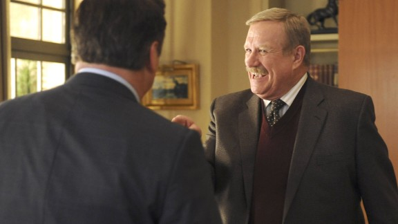 "Ken Howard, seen here as Hank Hooper on ""30 Rock,"" died March 23. He was 71. Howard also starred in ""The White Shadow"" and appeared in many other TV series."