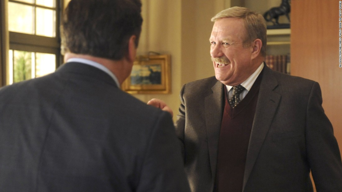 "<a href=""http://www.cnn.com/2016/03/23/entertainment/ken-howard-dead-obit-feat/index.html"" target=""_blank"">Ken Howard</a>, seen here as Hank Hooper on ""30 Rock,"" died March 23. He was 71. Howard also starred in ""The White Shadow"" and appeared in many other TV series."