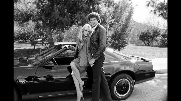 """<strong>'Knight Rider': </strong>If some fans had their way, NBC would have called it """"The KITT Show,"""" because, really, it was all about David Hasselhoff's intelligent, talking Pontiac Firebird Trans Am. Hasselhoff and KITT, which stood for Knight Industries Two Thousand, hunted down criminals for a group called the Foundation for Law and Government (FLAG). The series ran from 1982-1986, A 21st-century reboot could be coming. Hasselhoff and a KITTish-looking car have surfaced in a mysterious <a href=""""https://www.youtube.com/watch?v=24Tk8BeXqxo"""" target=""""_blank"""" target=""""_blank"""">YouTube """"trailer""""</a> for something titled """"Knight Rider Heroes."""""""