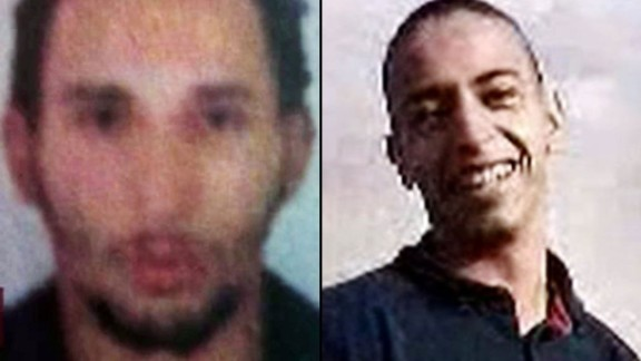 Mohammed Merah, right, fatally shot seven people in and around Toulouse, France, in March 2012. He was killed in a shootout with police. Prosecutors said Mohamed's brother Abdelkader, left, helped plan the crimes; Abdelkader is now serving a prison sentence.