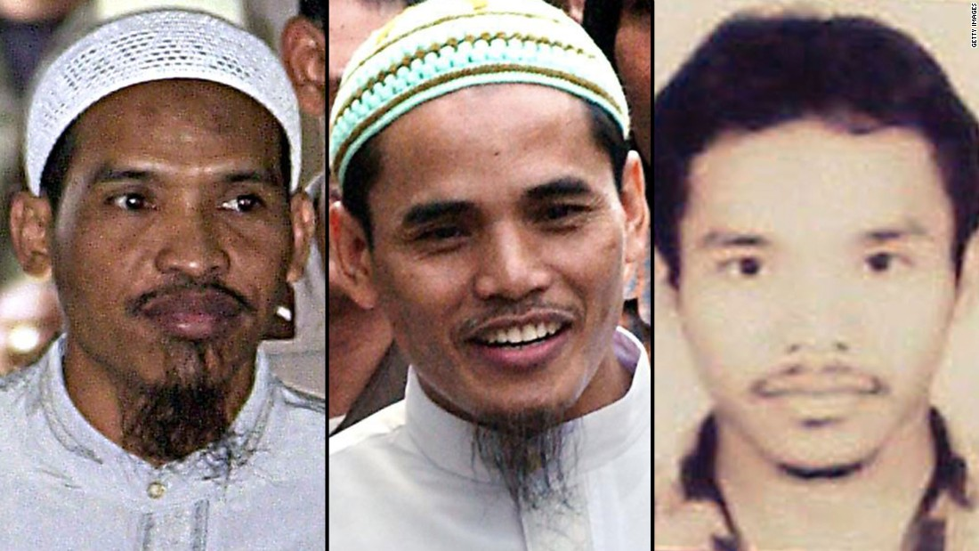 Ali Ghufron, left, recruited his two younger brothers -- Amrozi, center, and Ali Imron -- to participate in the Bali, Indonesia, bombings in 2002. They detonated two bombs on the tourist island, killing 202 people from 21 different countries.