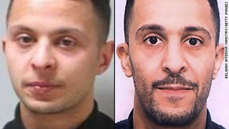 Left to right: Salah and Brahim Abdeslam