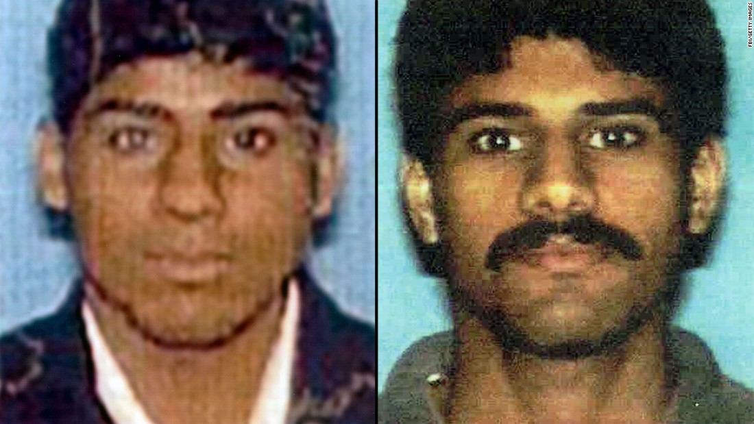 Salem al-Hazmi, left, and his brother Nawaf were aboard American Airlines Flight 77, which crashed into the Pentagon on September 11, 2001.