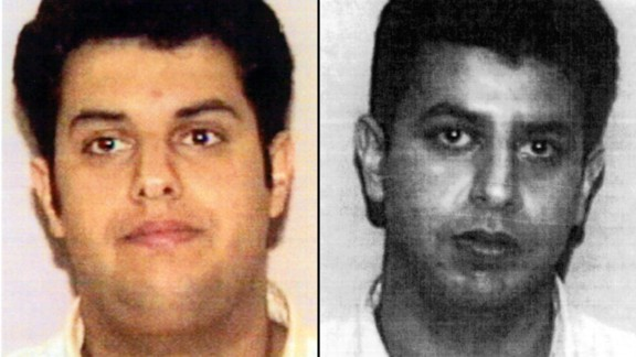 Waleed al-Shehri, left, and his younger brother, Wail, were aboard American Airlines Flight 11, sitting beside each other before they helped hijack the plane that crashed into the North Tower of the World Trade Center.