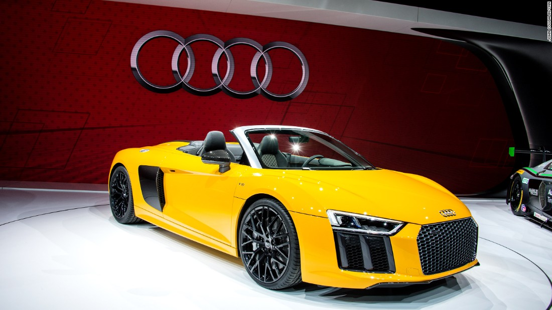 New York Auto Show New Cars Bound To Stop Traffic CNN Style - Audi new model 2016