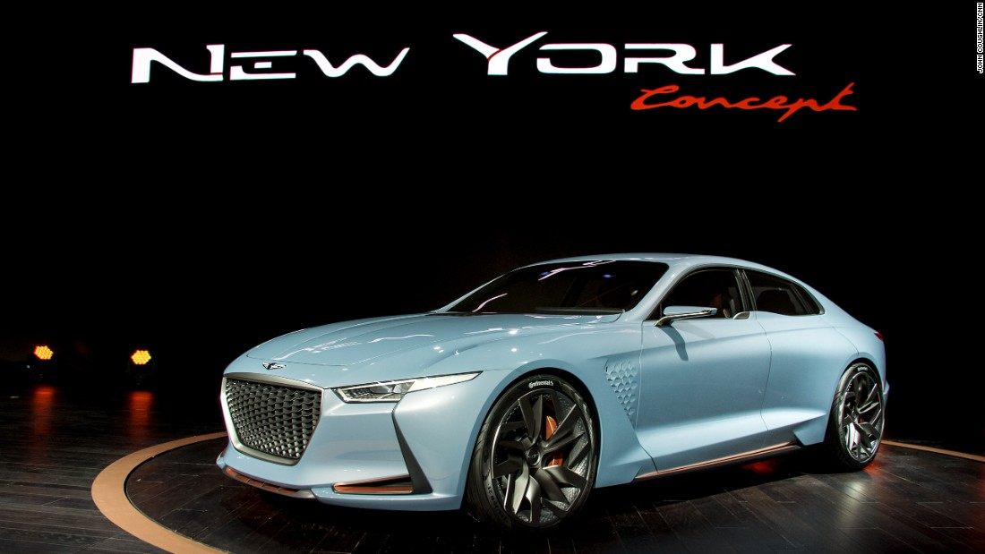 New York Auto Show New Cars Bound To Stop Traffic CNN Style - New york auto show