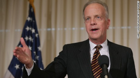 Sen. Jerry Moran (R-KS) speaks during a news conference to launch the U.S. Agriculture Coalition for Cuba at the National Press Club January 8, 2015 in Washington, DC.