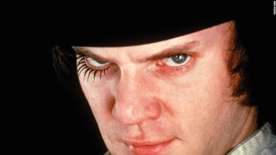 "<strong>""A Clockwork Orange""</strong>: Malcolm McDowell stars and Stanley Kubrick directs this dystopian crime classic. <strong>(Netflix)  </strong>"