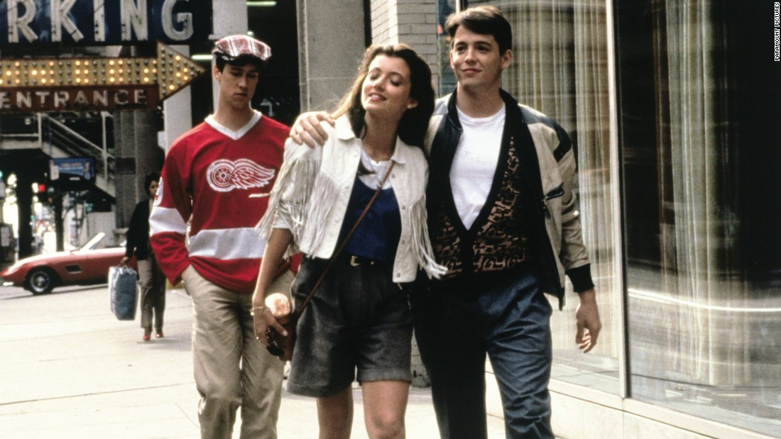 "<strong>""Ferris Bueller's Day Off""</strong>: Alan Ruck, left, Mia Sara and Matthew Broderick star in this iconic '80s comedy about a high schooler who fakes being sick to miss school. <strong>(Amazon Prime </strong>and<strong> Hulu) </strong>"