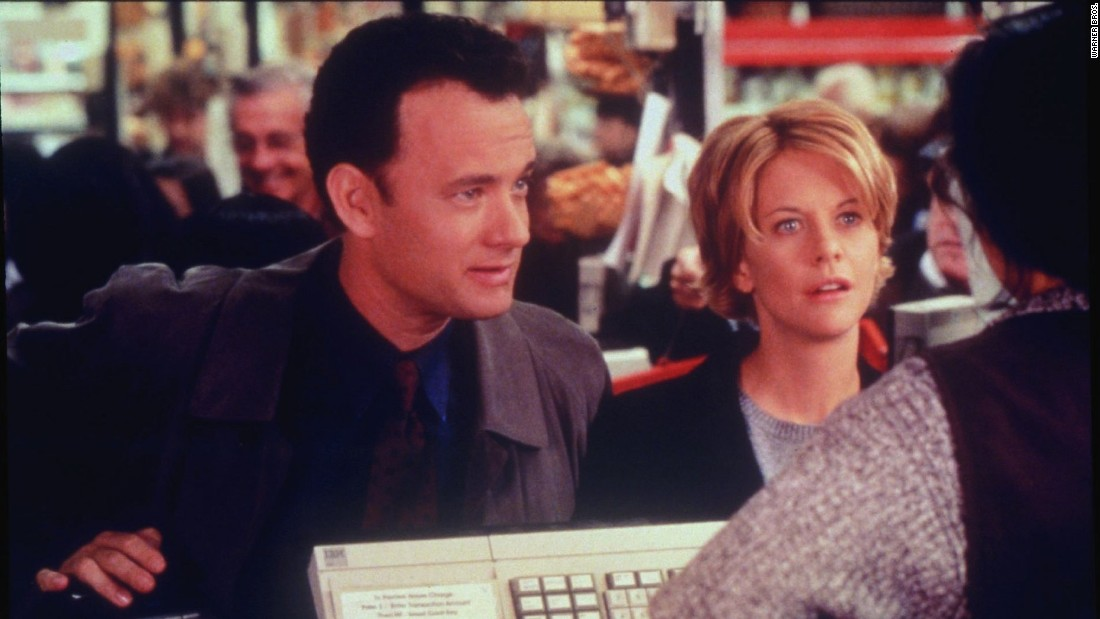 "<strong>""You've Got Mail""</strong>: This rom-com reunites ""Sleepless in Seattle"" stars Tom Hanks and Meg Ryan as two rivals who fall in love over the Internet. <strong>(Amazon Prime) </strong>"