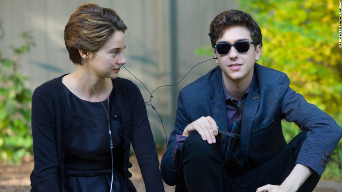 "<strong>""The Fault in Our Stars"":</strong> Shailene Woodley and Nat Wolff co-star in the drama based on a John Green novel about a pair of ill teens who find love. <strong>(HBO Now) </strong>"
