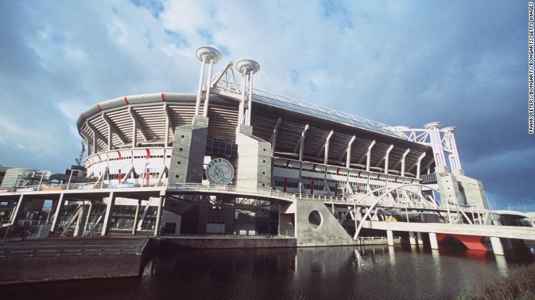 The Amsterdam ArenA in the Netherlands.